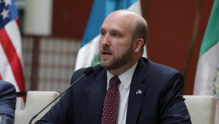 William W. Popp, embajador de Estados Unidos en Guatemala. (Foto: Presidencia)