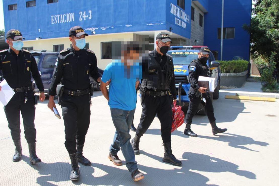 Capturan a hombre sindicado de matar a su esposa y cuñado en Tiquisate, Escuintla y de llevarse a sus hijos