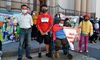 Guatemaltecos demandan una protección a favor de víctimas de accidentes viales. (Foto: María Renee Barrientos)