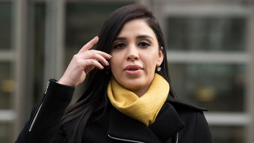 """""""Te lo pido, virgencita de Guadalupe"""": Los mensajes de apoyo que Emma Coronel recibe desde las redes sociales"""
