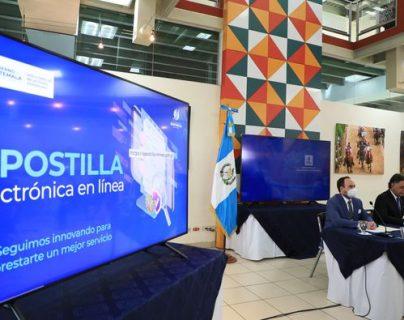 Minex habilita la apostilla electrónica y así se beneficia a los guatemaltecos en el extranjero