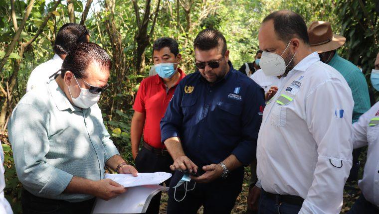 El inmueble que fue comprado por la comuna se ubica en el camino al Centro de Preventivo de Mazatenango. (Foto Prensa Libre: Marvin Túnchez)