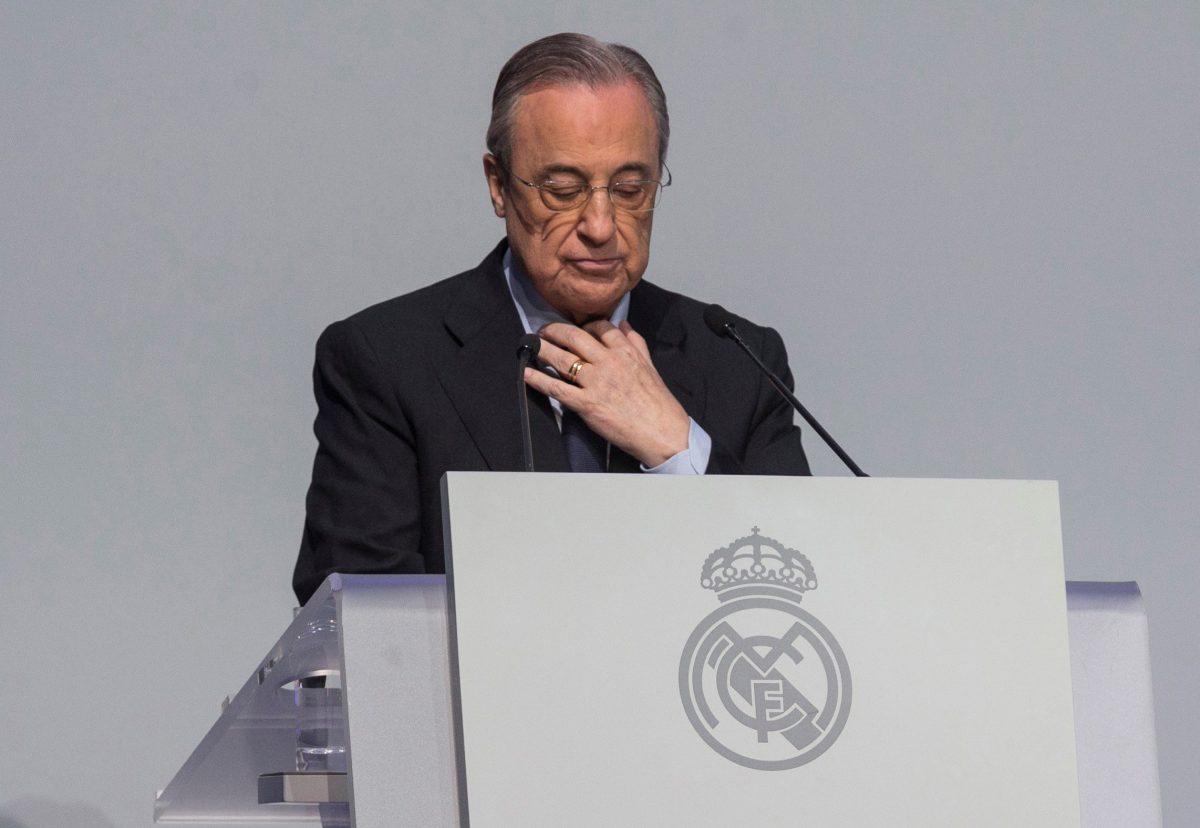 El presidente del Real Madrid Florentino Pérez, de 73 años, da positivo al coronavirus