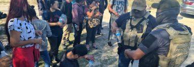 Migrantes pidieron ser devueltos a sus países de origen. (Foto Prensa Libre: EFE)