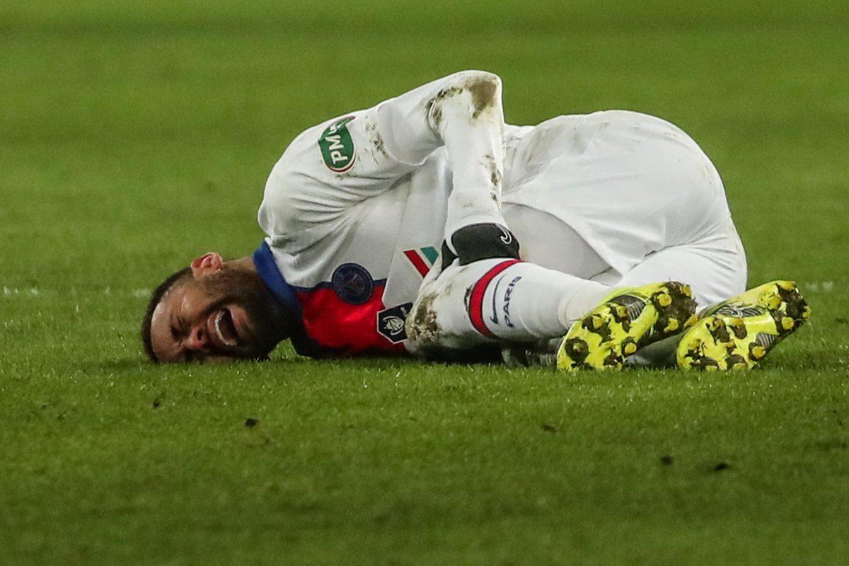 Neymar se perderá por lesión el partido del PSG en Barcelona en la Champions League