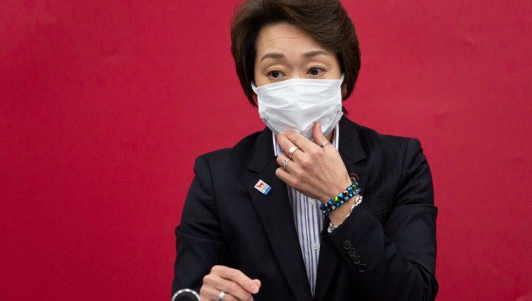 Seiko Hashimoto, presidenta del comité de organización de los Juegos Olímpicos de Tokio. (Foto Prensa Libre: EFE)