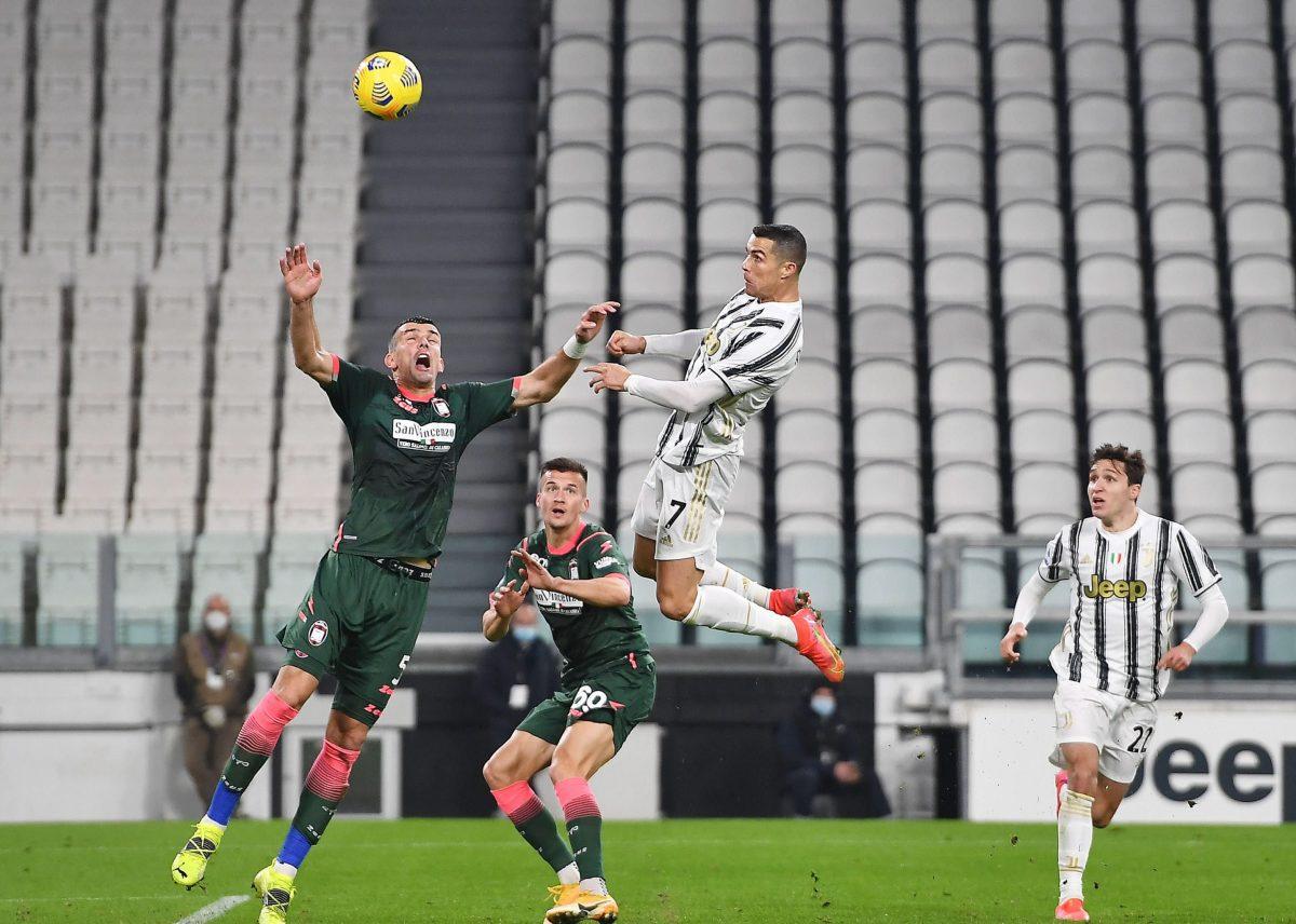 Serie A: Cristiano Ronaldo con doblete de cabeza reactiva a la Juventus y retoma la tabla de goleadores