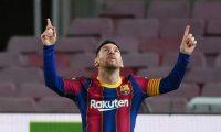 Los ingresos de Messi está en el debate público luego que se filtrara su contrato de los últimos cuatro años. (Foto Prensa Libre: AFP)