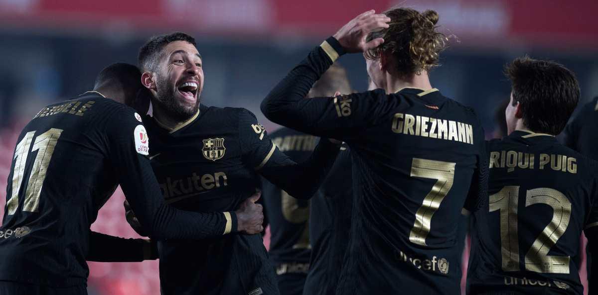 Así fue la remontada épica del Barcelona frente al Granada para pasar a las semifinales de la Copa del Rey
