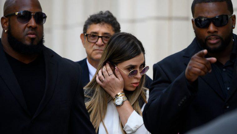 """Emma Coronel, esposa de Joaquín """"el Chapo"""" Guzmán. (Foto Prensa Libre: AFP)"""