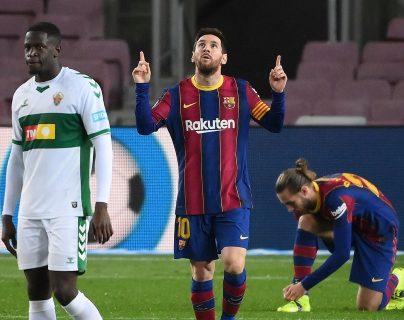 Brilla Leo Messi, desatasca al Barsa y le mete presión al Atlético y Real Madrid