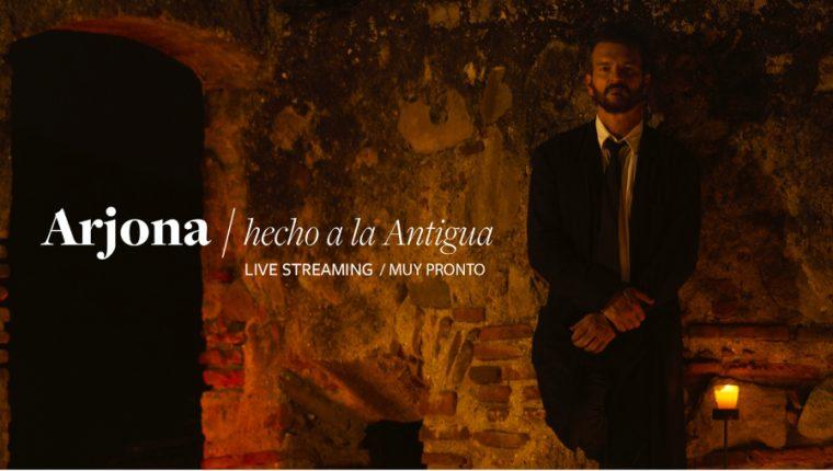 """Ricardo Arjona promociona """"Hecho a la Antigua"""", un concierto streaming. (Foto Prensa Libre: Cortesía Metamorfosis)"""