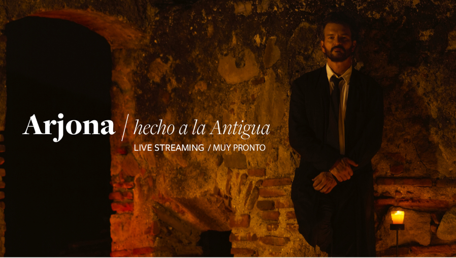 """Ricardo Arjona anuncia """"Hecho a la Antigua"""", un concierto streaming desde la Ciudad Colonial con más de 30 músicos del mundo"""