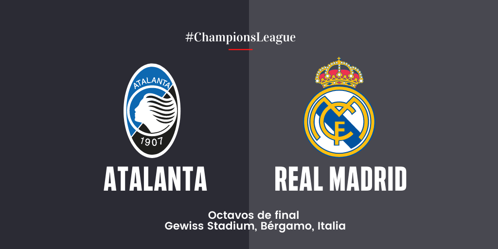 En Directo: Atalanta vs Real Madrid