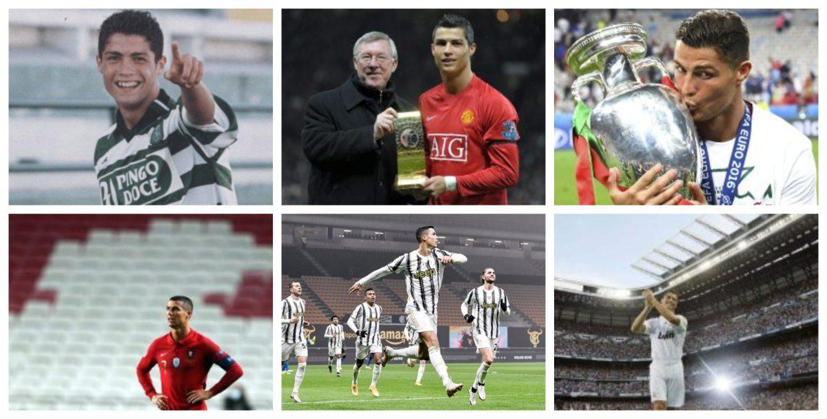 Cristiano Ronaldo cumple 36 años: los momentos clave desde Funchal hasta llegar a Turín