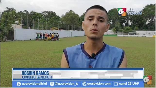 Jugador guatemalteco que fingió recibir un golpe explica qué pasó y ofrece una disculpa que quiere llegue a todo el mundo