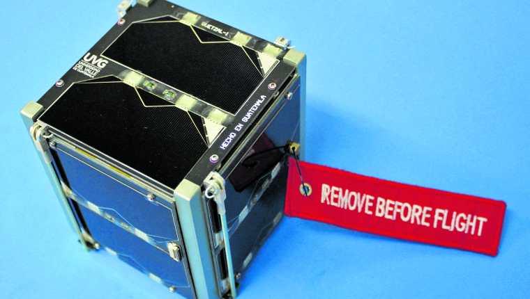 Quetzal-1 envió 84,776 paquetes de información entre ellos datos de su funcionamiento, que servirán para un segundo satélite. (Foto Prensa Libre: Hemeroteca PL).