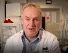 El inmunólogo Luke O'Neill. (Foto Prensa Libre: Tomada de Infobae)