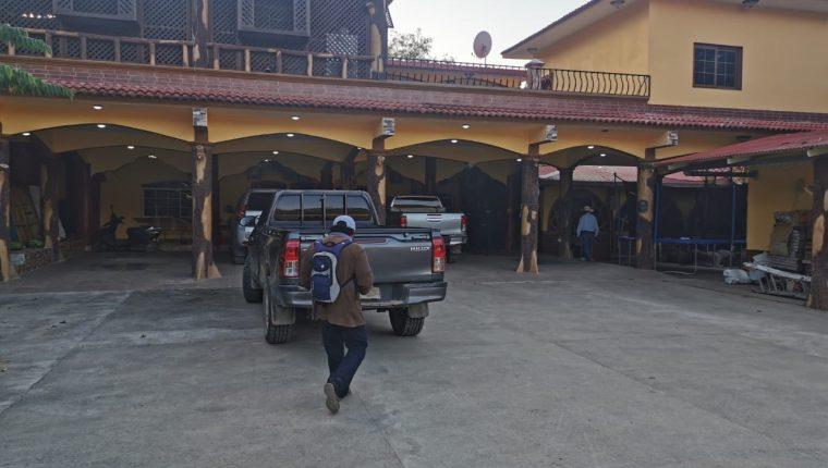 Operativos en busca de implicados en la banda Los Pelones. (Foto: MP)