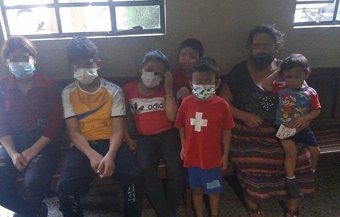Seis hermanos que tenían alerta Alba Keneth fueron localizados por la PNC en Amatitlán
