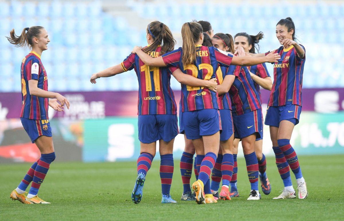 El Barcelona cumple los pronósticos y logra su séptima Copa de la Reina