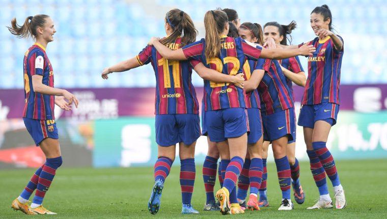 El Barcelona femenino se proclama campeón por tercera ocasión de la Copa de la Reina. (Foto FC Barcelona Femenino).