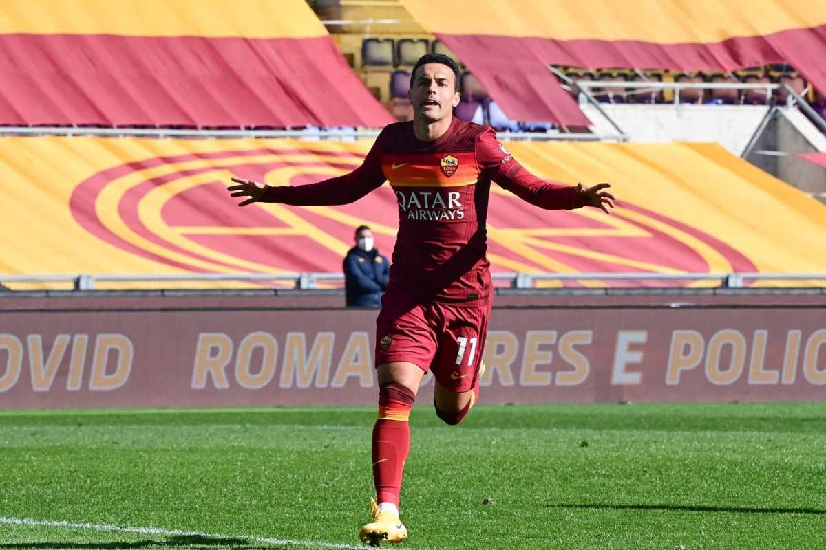 Pedro regresa con gol y la Roma se pone a seis puntos del liderato