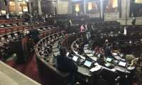 Sesión del Congreso el 17 de febrero. (Foto: José Castro)