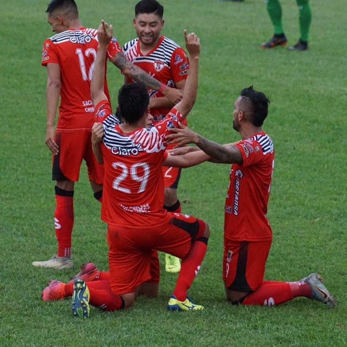 Sacachispas se queda con los tres puntos en casa frente a Achuapa