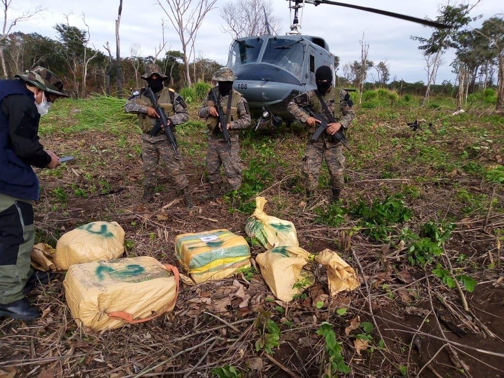 Guatemala ha incautado más de Q3 mil millones en droga en los últimos tres años