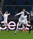 El defensor francés del Real Madrid, Ferland Mendy, marcó el único gol del partido al minuto 86. Foto Prensa Libre: AFP.