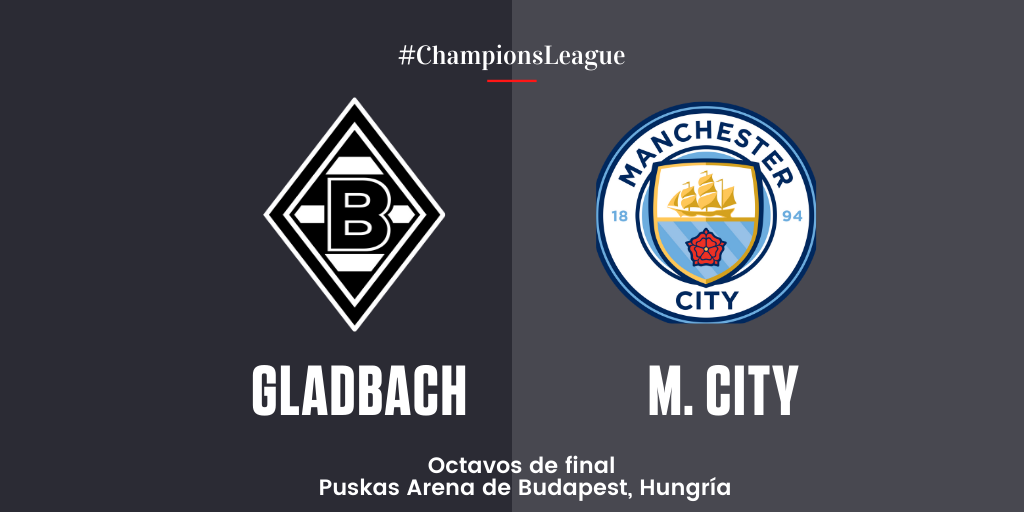 En Directo: Borussia Mönchengladbach vs Manchester City
