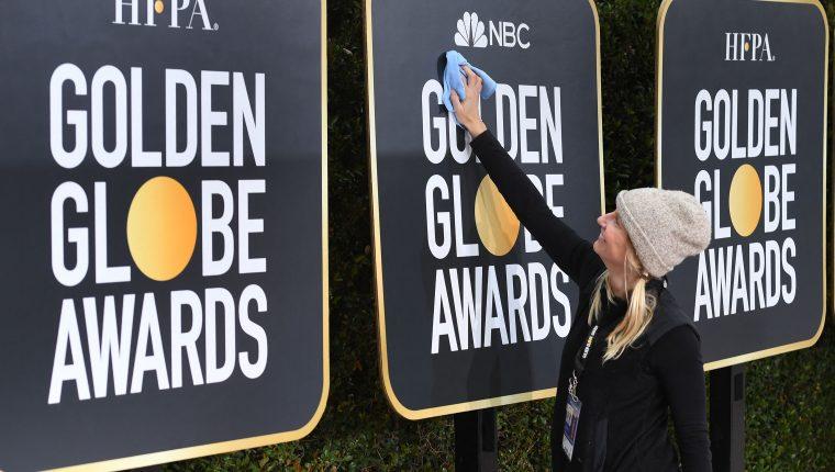 """La ceremonia de los Globos de Oro será """"a dos costas"""" entre Nueva York y Los Ángeles. (Foto Prensa Libre: Mark RALSTON / AFP)."""