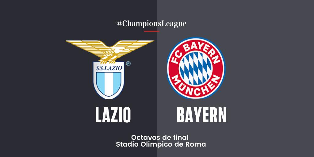 En Directo: S.S. Lazio vs Bayern de Múnich