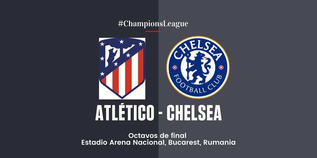 En Directo: Atlético de Madrid vs Chelsea FC