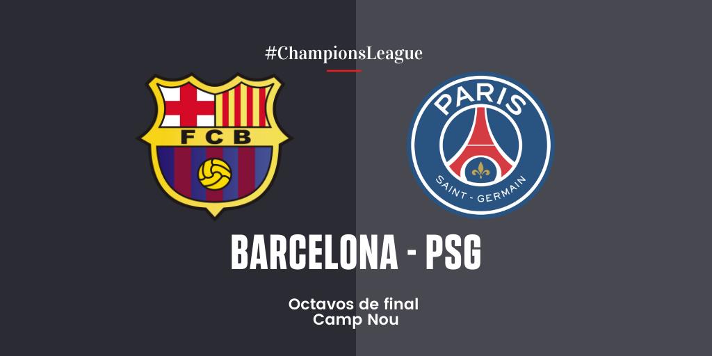 EN DIRECTO | Barcelona vs PSG