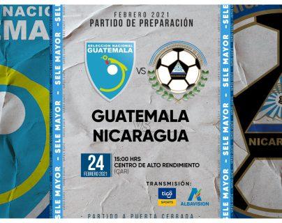 Guatemala jugará amistoso contra Nicaragua antes de iniciar la eliminatoria mundialista