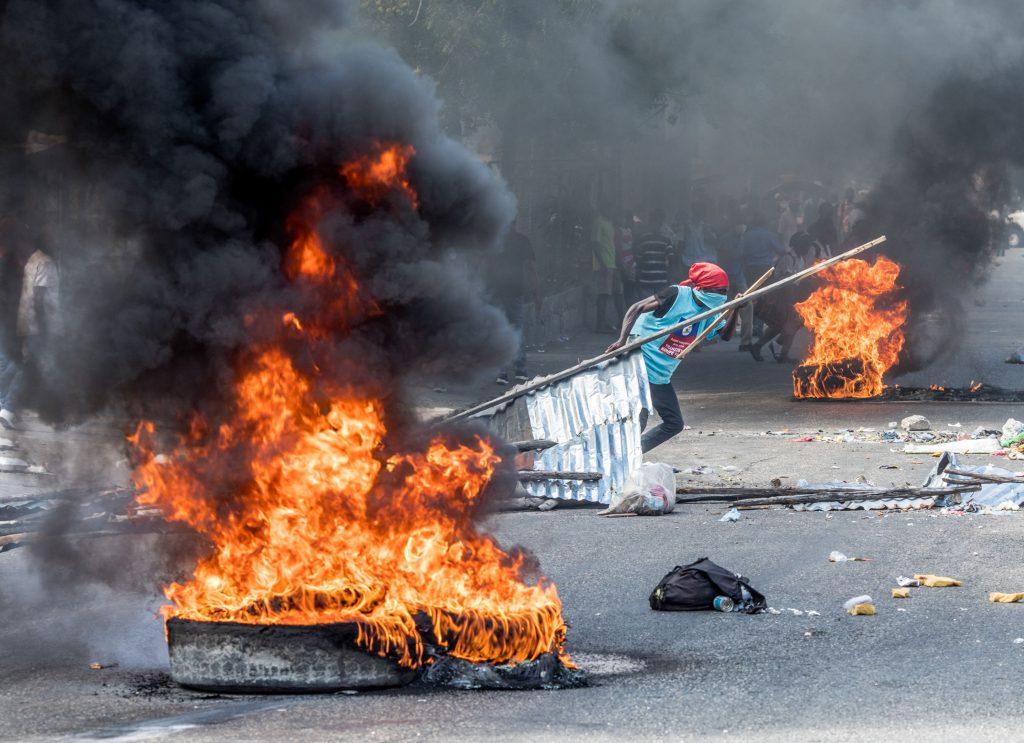 En imágenes: así transcurre la jornada de protestas en Haití para exigir la salida del presidente Moise