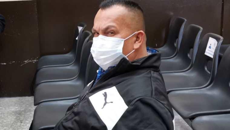 Henry Hernández Herrera quedo logado a proceso penal en el Caso Huistas. (Foto Prensa Libre: Edwin Pitán)