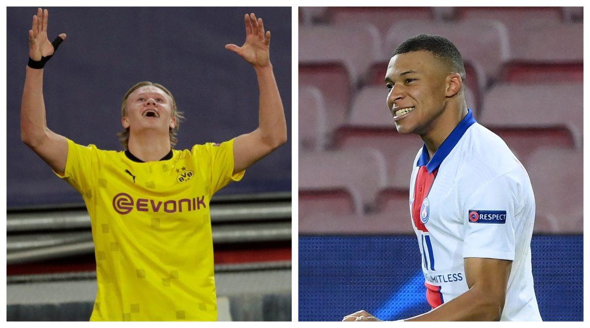 Haaland y Mbappé, ¿hacia el relevo de Cristiano Ronaldo y Messi?