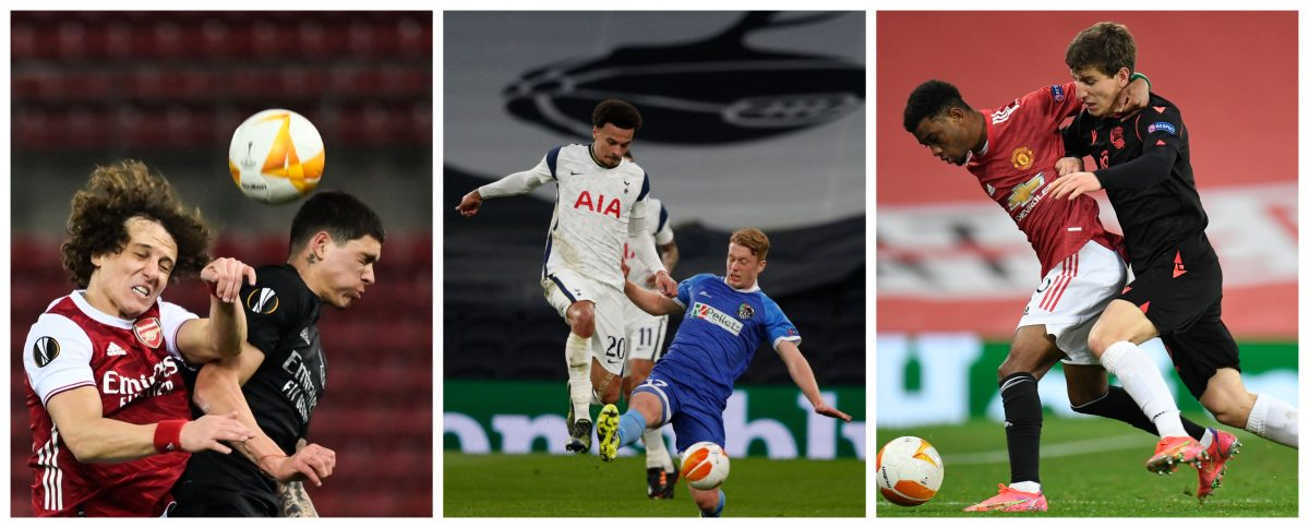 Europa League: Arsenal, Tottenham y Manchester United siguen su curso en la competencia