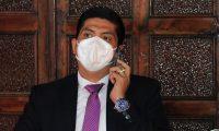 Mynor Moto fue electo magistrado titular de la CC, pero no ha tomado posesión. (Foto Prensa Libre: Hemeroteca PL)