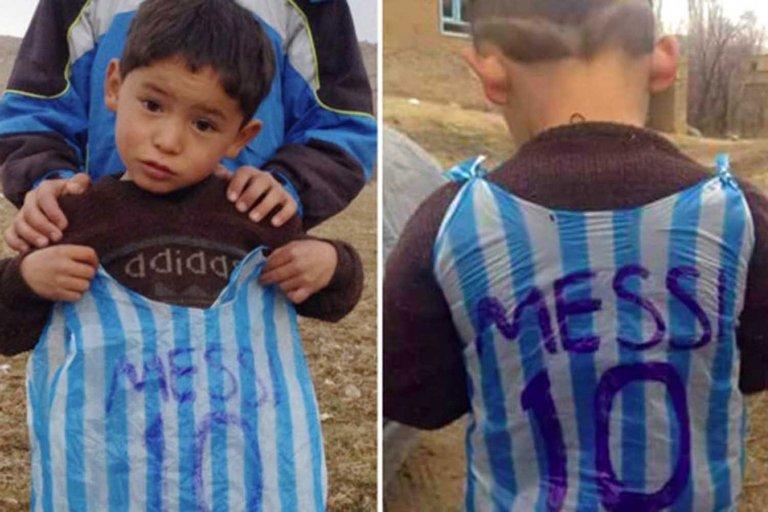 El calvario del niño afgano que cumplió el sueño de conocer a Lionel Messi: vive rodeado de amenazas y su familia pide ayuda