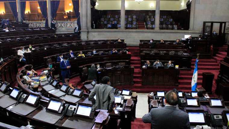 Pleno del Congreso de la República. Foto: Hemeroteca Prensa Libre