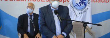 Francisco Coma, viceministro de Hospitales, indicó que existe un desabastecimiento de sedantes en los centros médicos del país. (Foto Prensa Libre: Hemeroteca PL)
