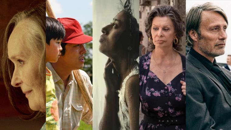 Fotogramas de las películas en la categoría Mejor Película de habla no inglesa de los Globos de oro.