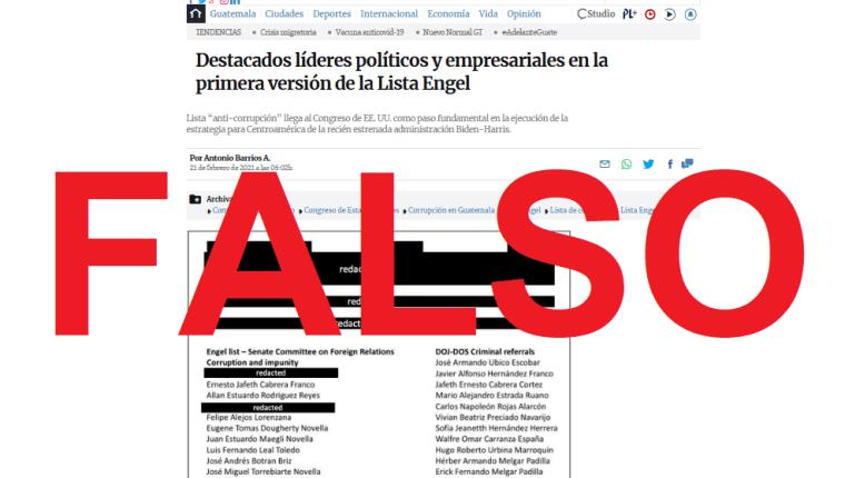 Una página emula el  auténtico sitio web de Prensa Libre. (Foto Prensa Libre: captura de pantalla)