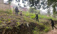La búsqueda de Sharon Figueroa fue en vano. Ahora las autoridades buscan tres menores desaparecidas. (Foto Prensa Libre: PNC)