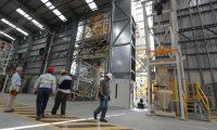 La primera Planta en Guatemala  de la empresa Sika ser‡ inaugurada en  el pr—ximo 13 de diciembre, ubicada en la ruta que conduce a Palin. La planta operar‡ con tres clases de productos que son cementos, acr'licos y sellantes.  foto por Carlos Hern‡ndez 04/12/2018