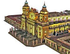 Primera piedra de La Catedral de Guatemala